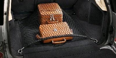 Сетка в багажник напольная с ремнями
