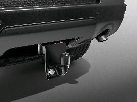 Заглушка бампера для стационарного фаркопа, Black