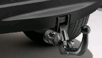 Фаркоп съемный (для авто с 7 сиденьями и запасным колесом)