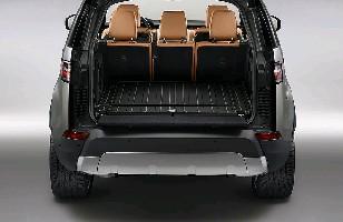 Ковер в багажник резиновый, черный (для ам с задним кондиционером)