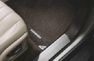Комплект текстильных ковров салона Premium Espresso, удлиненная база