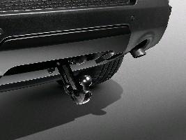Заглушка бампера для электрического фаркопа , Black