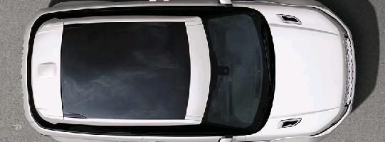 Установочный комплект для авто со стеклянной крышей, черный