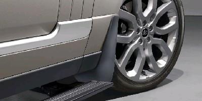 Брызговики передние Range Rover (с выдвижными подножками)