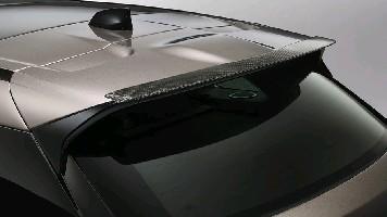 Спойлер двери багажника, карбоновый Range Rover Velar