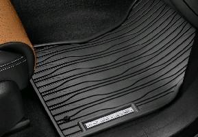Комплект резиновых ковров салона Ebony Range Rover Velar