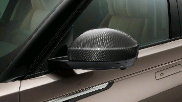 Накладки на зеркала, карбон Range Rover Velar