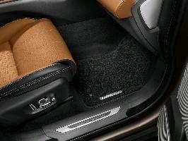 Комплект текстильных ковров салона Luxury Ebony Range Rover Velar