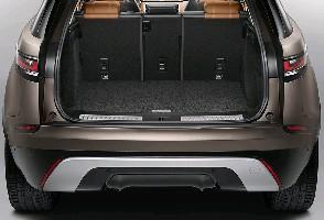 Ковер в багажник текстильный Luxury Ebony (для ам с полноразмерным зап.колесом) Range Rover Velar