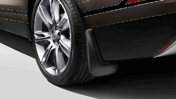 Брызговики задние Range Rover Velar