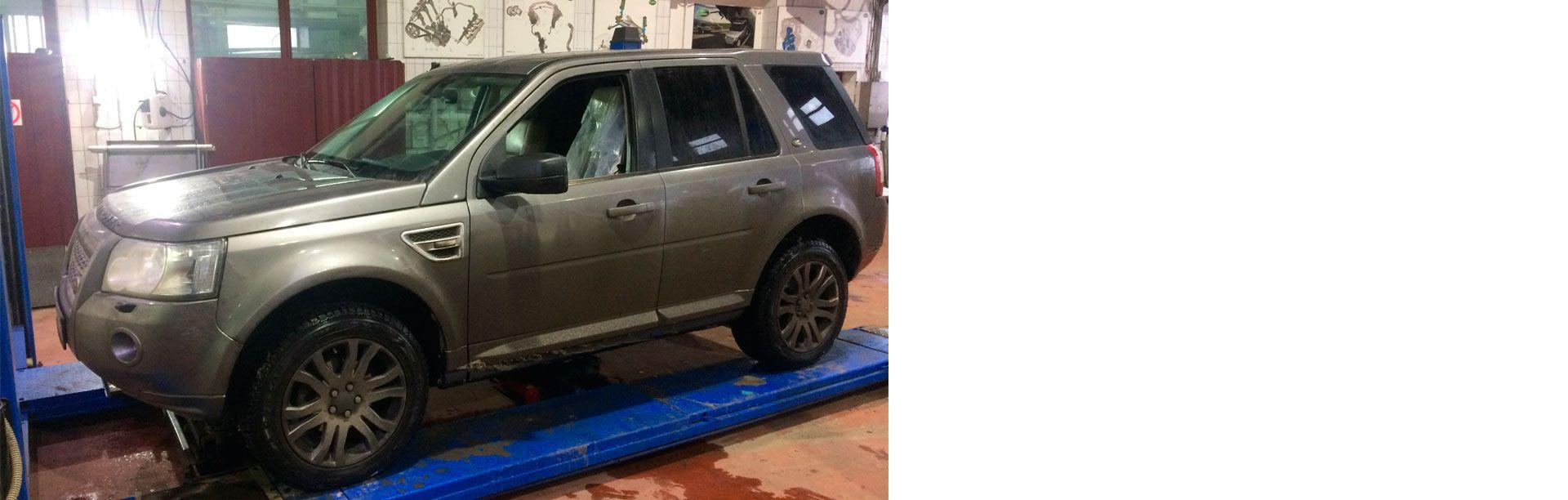Магазин запчастей Land Rover LR-West